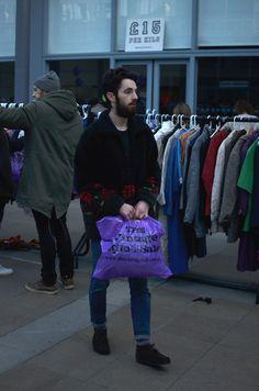 Glasgow Vintage Kilo Sale, November 2016. Shot by Adrian Kriska  https://www.facebook.com/AdrianKriskaPhotography/