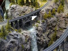 ho train layout plans - Google Search