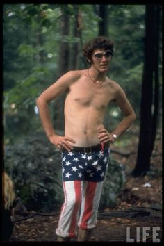 1969 Woodstock fashion