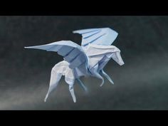 Origami swallow by Mindaugas Cesnavicius - YouTube