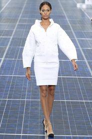 Chanel Spring/Summer 2013|8!!! Bebe'!!! Love Chanel in White!!!