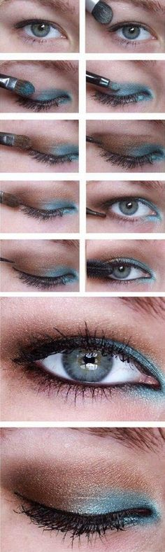 The rule for hooded eyes stands that you should use only mat colors, and shouldn't use shimmery colors, but of course this is a rule that you can absolutely break if you know what you are doing.
