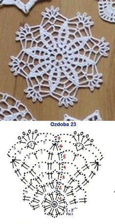 Transcendent Crochet a Solid Granny Square Ideas. Inconceivable Crochet a Solid Granny Square Ideas. Crochet Coaster Pattern, Crochet Snowflake Pattern, Crochet Motif Patterns, Crochet Snowflakes, Crochet Mandala, Crochet Diagram, Crochet Chart, Thread Crochet, Crochet Doilies