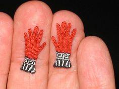 Althea Crome, amazing miniature gloves!