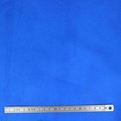 1 peau porc velours - BLEU ELECTRIQUE - ep= 0,7 mm - 1' choix