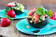 Strawberry Quinoa Avocado Salad
