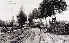 Algemeen overzicht weg naar Wintelre, thans genaamd Slingerbos - 1910-1920 Holland, Places, Outdoor, Pictures, The Nederlands, Outdoors, The Netherlands, Netherlands, Outdoor Games
