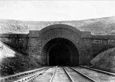An early shot of The Prince of Wales Tunnel (looking towards Shildon) Named after Queen Victoria's first born son Edward, who after 60 years of the tunnel being built would become Edward the v11