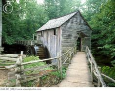 Old Cable Mill in Cades Cove, Great Smoky Mountains