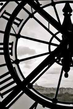 The iconic clocks of La Musee d'Orsay. France