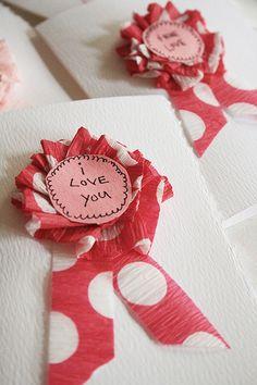 alisaburke: award ribbon valentines