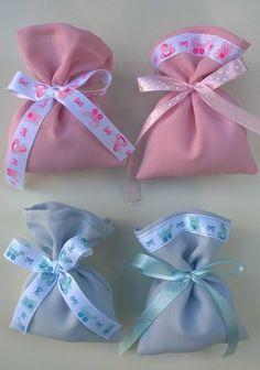 Novita'! Sacchetti per confetti -Bomboniere nascita,battesimo, comunione, stampa- Dimens. 12x10 cm-baby, rosa, azzurro, bambino, bambina di EntulaCreazioni su Etsy