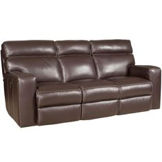 Htl 2678cs Hazelnut Leather Sofa Great American Home