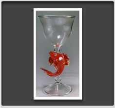 Glass by Steve Scherer Glassworks. American Made. See the designer's work at the 2015 American Made Show, Washington DC. January 16-19, 2015. americanmadeshow.com #glass, #artglass, #americanmade, #fish