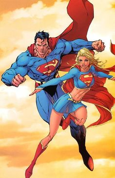 Michael Turner (RIP) does the best Supergirl artwork.