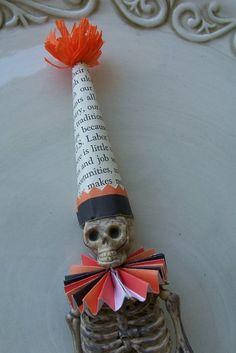Whimsicle Skeleton Halloween Ornament by taintedpumpkin on Etsy, $6.00