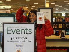 First day of my book release
