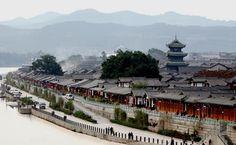 Langzhong Ancient City (閬中古城), Langzhong, Nanchong, Sichuan       閬中在四川東北部,有被譽為戲劇活化石的閬中儺戲、打夯歌,耐人尋味的川劇座唱,抑揚頓挫的茶館評書,構成民俗文化的瑰麗長廊。#四大古城