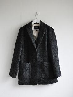 Mango Herringbone Short Coat