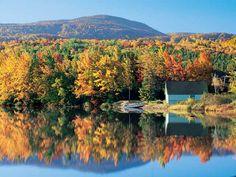 Tupper-Lake in New York's Adirondack Park