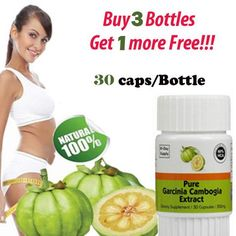 Buy 3 get 1 free! DAYS SUPPLY) Pure garcinia cambogia slimming products loss weight diet product for women Weight Loss Help, Healthy Weight Loss, Lose Weight, Fat Smash Diet, Negative Calorie Diet, 30 Tag, Pure Garcinia Cambogia, Acupuncture For Weight Loss, Instant Weight Loss