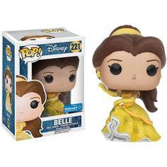 Funko POP! Disney Beauty and the Beast Sparkle Dress Belle Vinyl Figure, Walmart Exclusive, Multicolor