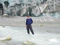 Glacier run off