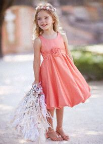 d84439d573e 59 Best Coral Flower Girl Dresses images