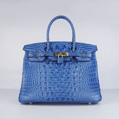 Sale hermes birkin bag dark blue crocodile head veins leather with silver hardware Sac Birkin Hermes, Hermes Purse, Hermes Bags, Hermes Handbags, Fashion Handbags, Birkin Bags, Backpack Handbags, Fashion Bags, Fashion Backpack