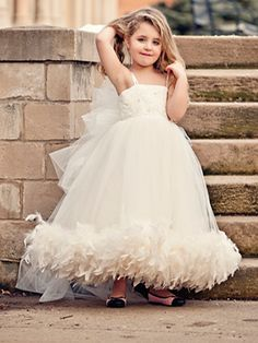for the flower baby vintage bridal dreams dress