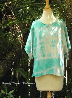 Organic cotton tie dye tee. by Gratefulthreads on Etsy
