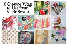 10 Creative Ways to Use Your Fabric Scraps | www.amygigglesdesigns.com