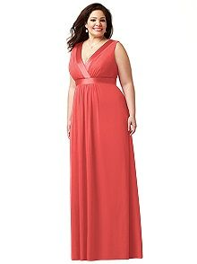 bd476885f8a Lovelie Plus Size Bridesmaid Style 9001 Empire Waist Bridesmaid Dresses