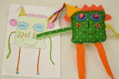 Pé-de-Ovo: estúdio de ilustração e criação de bonecos de pano | Oficina Minimonstros