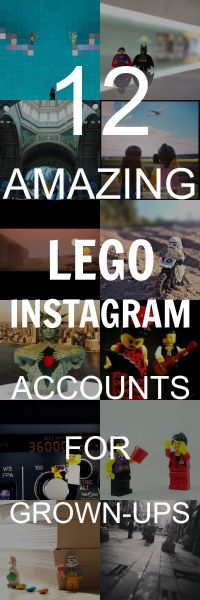 Have a look at some of the best #Lego #Instagram accounts to follow for grown-ups only!