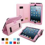 """Hello Kitty Themed Apple iPad Mini Folio with """"Kitty Says I Love You"""" in Pink (leather inner holding frame, 4x angle stand)   Tablet Keyboar..."""