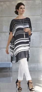 Los blusones, una prenda útil y elegante The blouses, a useful and elegant garment – Chic Woman Fashion Over, Hijab Fashion, Fashion Dresses, Classy Outfits, Chic Outfits, Elegantes Outfit, Mode Outfits, Stylish Dresses, African Fashion
