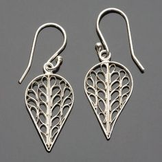Fair Trade Silver Margarita Earrings