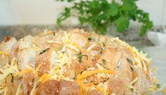 Pão com Queijo, Salsa e Alho