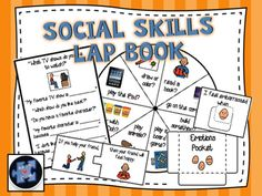 This unique, hands-on product is the ultimate social skills instruction tool! It includes 5 social skills activities, organized into one lap book, designed for ongoing use! Explicit instructions, including photos, included for how to create lap book and how to use activities!!