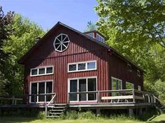 Location: Hancock, Massachusetts Cost per night: Rates vary Sleeps: 11 people   - HouseBeautiful.com