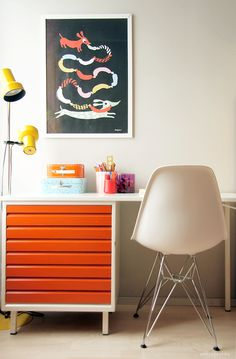 Pinjacolada: kids room desk