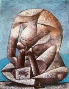 Picasso Mujer deformada