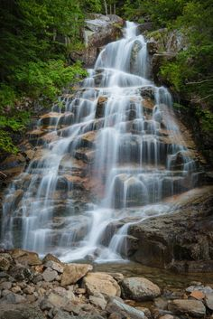 9. Waterfalls, Franconia Notch