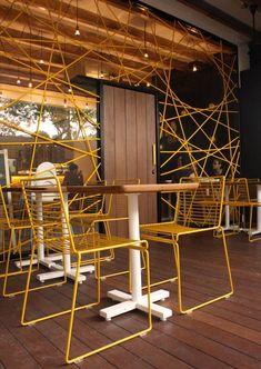 Ciekawa kawiarnia w Singapurze