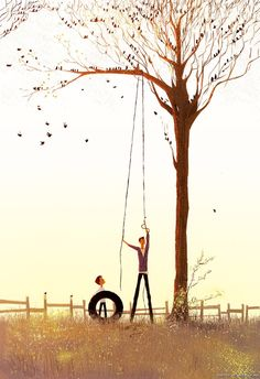 Pascal Campion- Truly a gifted illustrator  beautiful illustration of the Father's heart