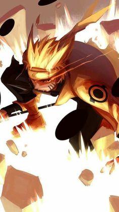 Naruto's Six Paths Sage Mode Naruto Uzumaki, Anime Naruto, Manga Anime, Naruto Fan Art, Fanarts Anime, Naruto And Sasuke, Anime Guys, Anime Characters, Sasunaru