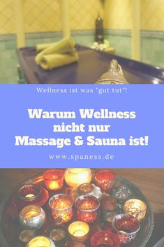 Gesundheit Wellness Blog: Wellness ist mehr als Sauna & Massage! Wellness ist ein Lebensgefühl!