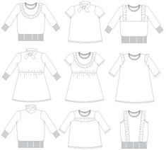51 Best Sewing Girl Patterns to Buy images in 2019