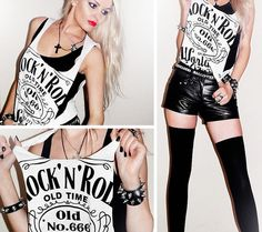 """Long Live Rock 'n' Roll!"" by Missi R. // LOOKBOOK.nu"